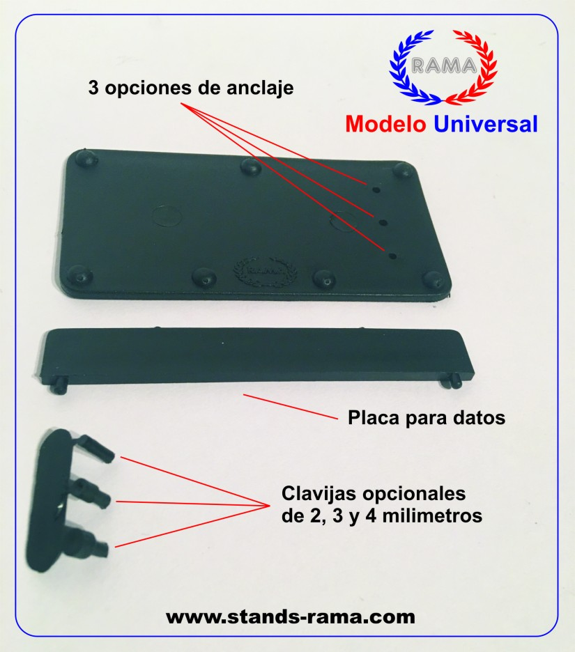 modelo universal con web